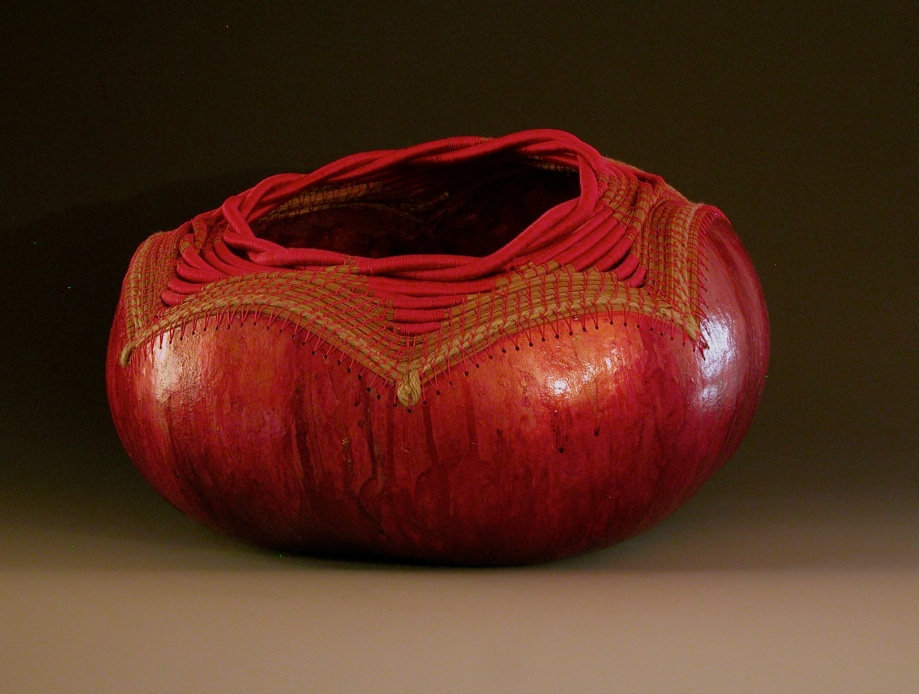 """Chinese Crimson Star"" gourd © Toni Best"