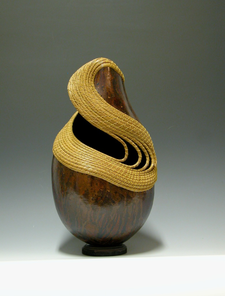 """Whirlpool"" gourd © Toni Best"
