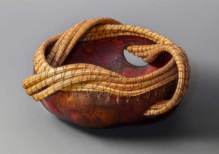 """In and Out"" gourd © Toni Best"