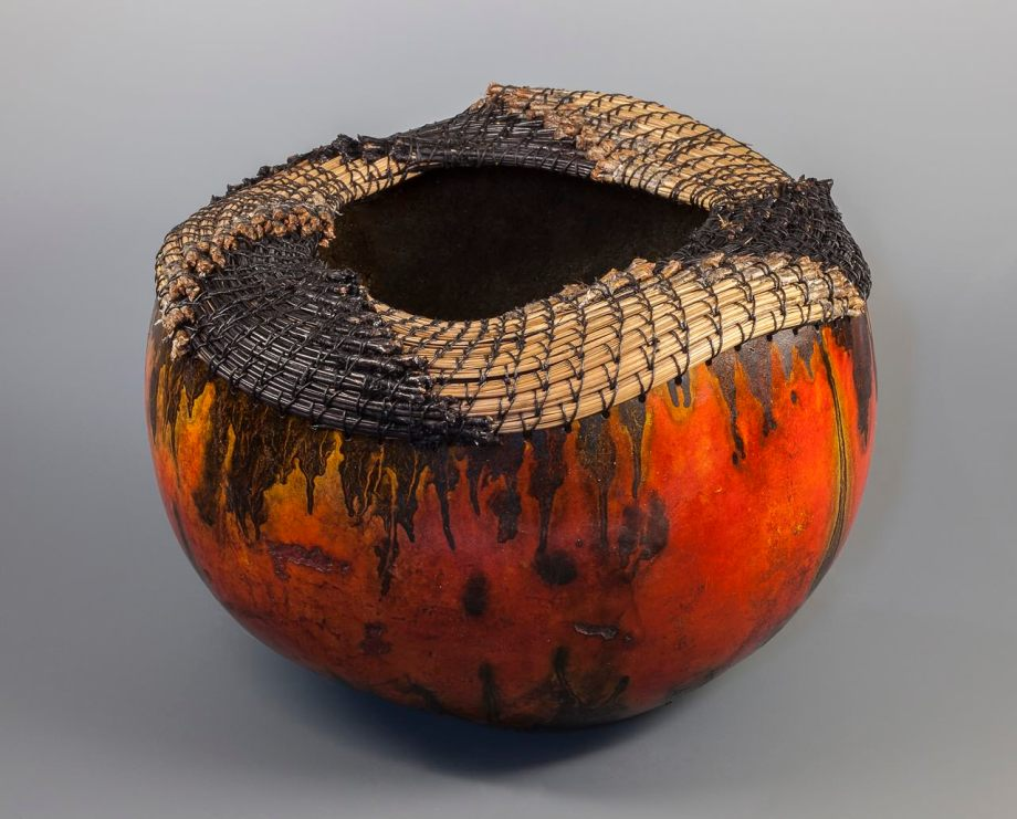 """""""Dyed Fascicle"""" gourd © Toni Best"""