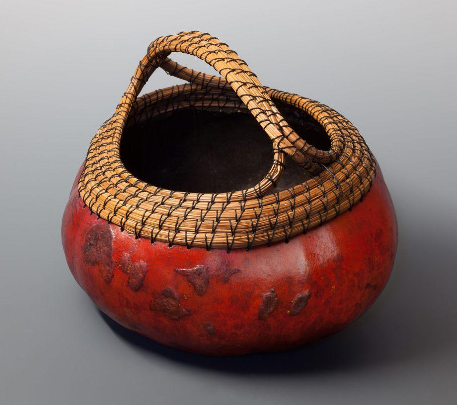 """""""Handled Basket"""" gourd © Toni Best"""
