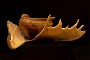 """The Call of the Wild"" gourd © Toni Best"